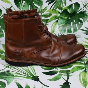 Timberland Earth Keeper Boots brown 19558. Sz 13